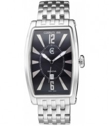 Cerruti Mens Black Dial Color Analog Watch - CT-579