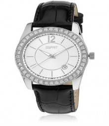 Double Icon Black Esprit Watch - Es106142002-N