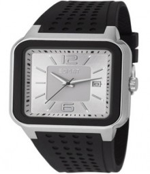 Four Sides Silver Black Esprit Watch - Es105841002