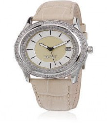 Double Twinkle Cream Esprit Watch - Es106132003
