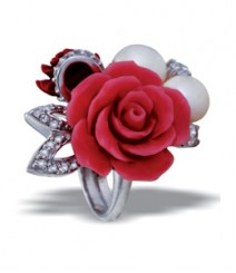 Tanya Rossi Red Sterling Silver Rings TRR168E