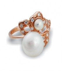 Tanya Rossi coral stylish Rings TRR178E