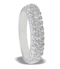Tanya Rossi Pave Studded Rings TRR221A