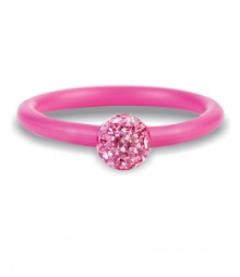 Tanya Rossi Pink Silicone Rings TRR231A