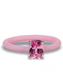 Tanya Rossi Brown Stylish Silicone Rings TRR305A