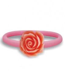 Tanya Rossi Pink Silicone Rings TRR308A