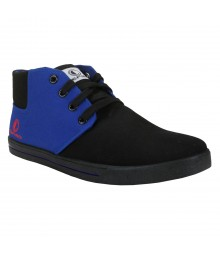 Cefiro Fun03 Black Blue Men Casual Shoes CCS0014
