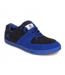 Cefiro Men Casual Shoes Fun06 Royal Blue Black CCS0027
