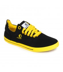 Cefiro Men Casual Shoes Fun06 Yellow Black CCS0029