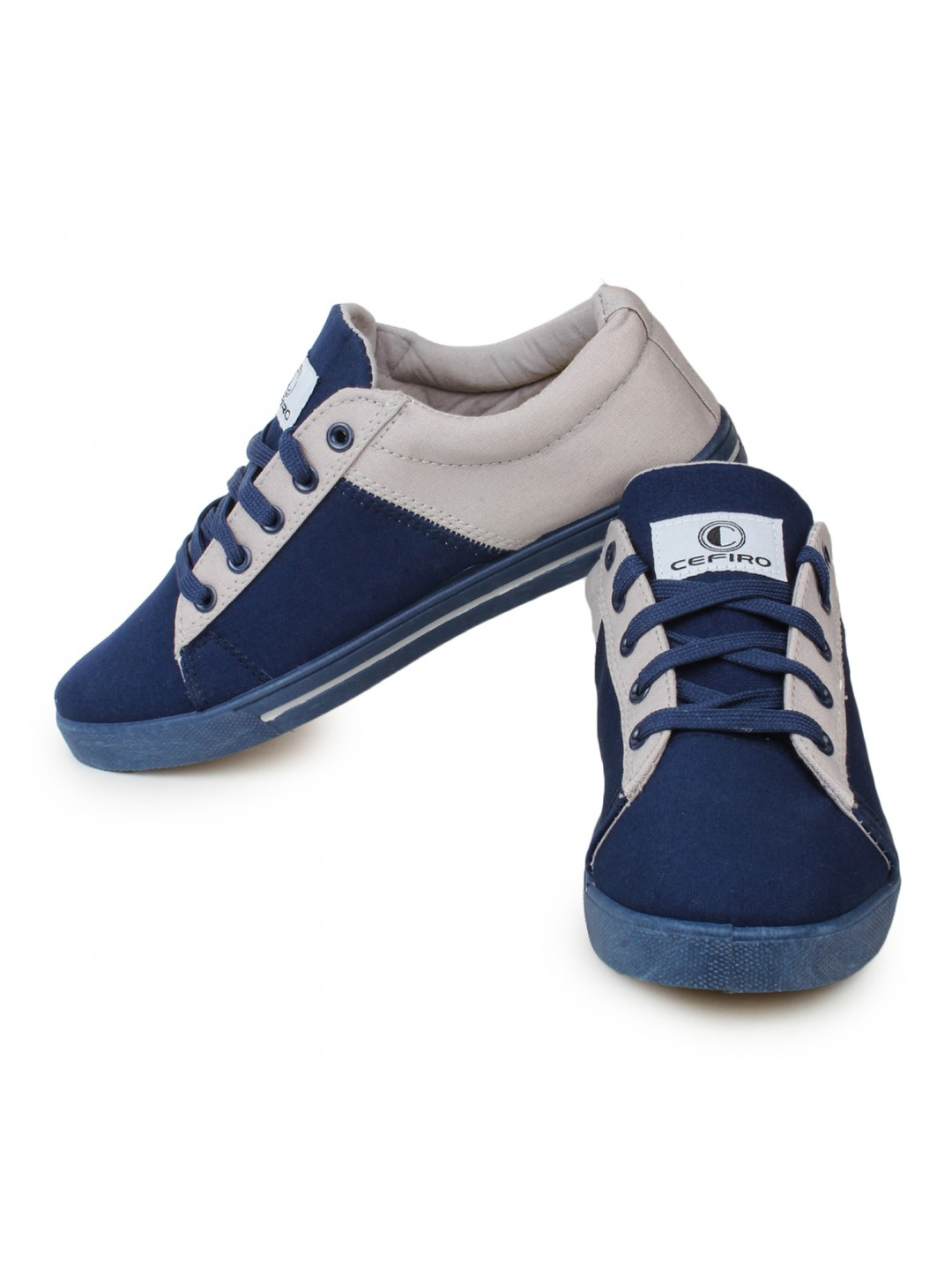 cefiro casual shoes fun07 navy blue grey ccs0030