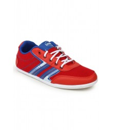 Cefiro Red Casual Shoes for Men - CCS0193