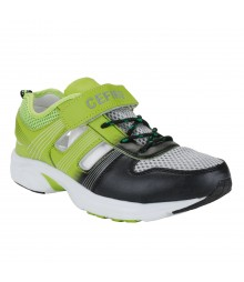 Cefiro 892 Black Green Men Sports Shoes CSD0029