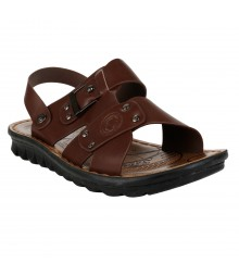 Cefiro Brown Sandal for Men - CSD0034