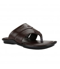 Cefiro Brown Slipper for Men - CSP0014