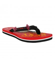 Cefiro Red Slipper Monkey for Men - CSP0022