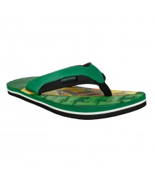 Cefiro AB Green Slipper for Men - CSP0024