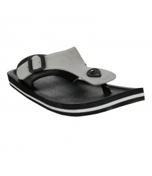 Cefiro Black Grey Slipper Omega for Men - CSP0026