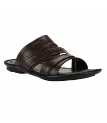 Cefiro Brown Slipper for Men - CSP0030