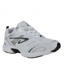 Cefiro White Blue Sports Shoes for Men - CSS0007