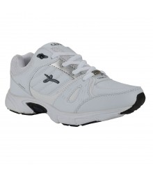 Cefiro White Blue Sports Shoes for Men - CSS0014