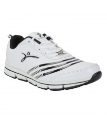 Cefiro Speed24 White Black Men Sports Shoes CSS0044