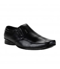 Le Costa Black Formal Shoes for Men - LCF0001
