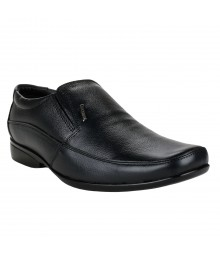 Le Costa Black Formal Shoes for Men - LCF0004