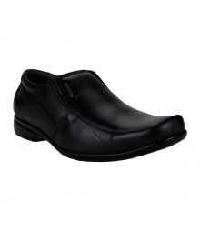 Le Costa Black Formal Shoes for Men - LCF0006