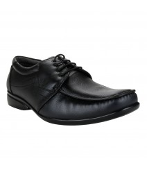 Le Costa Black Formal Shoes for Men - LCF0007