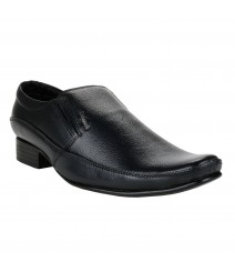 Le Costa Black Formal Shoes for Men - LCF0008