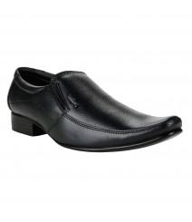 Le Costa Black Formal Shoes for Men - LCF0009