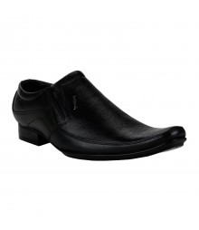 Le Costa Black Formal Shoes for Men - LCF0010