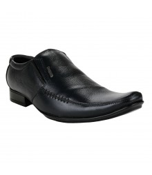Le Costa Black Formal Shoes for Men - LCF0011