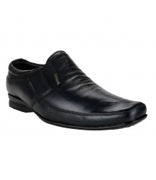 Le Costa Black Formal Shoes for Men - LCF0012