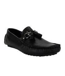 Le Costa Black Loafers for Men - LCF0024