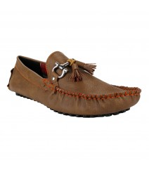 Le Costa Tan Loafers for Men - LCF0026