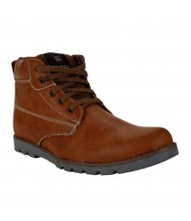 Le Costa Tan Boot Shoes for Men - LCL0017