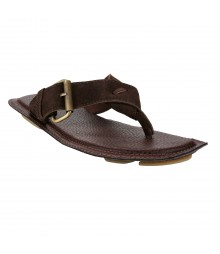 Le Costa Brown Slipper for Men - LSP0006