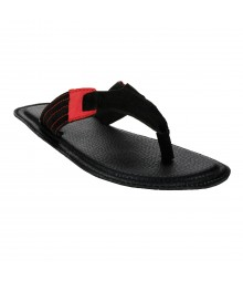 Le Costa Black Slipper for Men - LSP0011