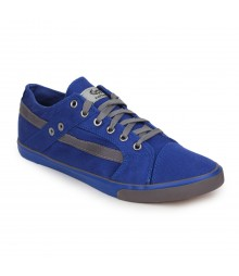 Vostro Blue Grey Casual Shoes for Men - VCS0156