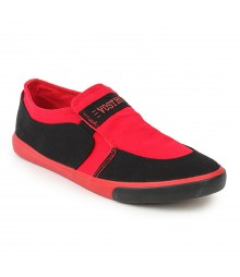 Vostro Red Casual Shoes for Men - VCS0262
