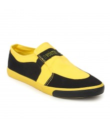 Vostro Yellow Casual Shoes for Men - VCS0264