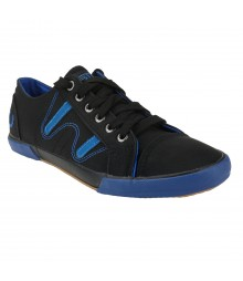 Vostro RN11 Black Royal Blue Men Casual Shoes - VCS0293-40