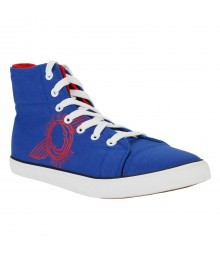 Vostro Blue Black Red Casual Shoes for Men - VCS0301