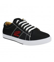 Vostro Tetra Black Men Casual Shoes - VCS1042-40