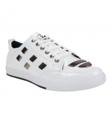 Vostro Spectra White Men Casual Shoes - VCS1054-40