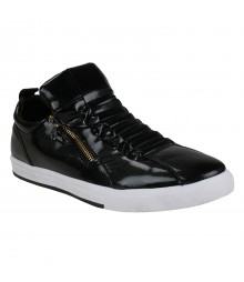Vostro Weaver Black Men Casual Shoes - VCS1066-40