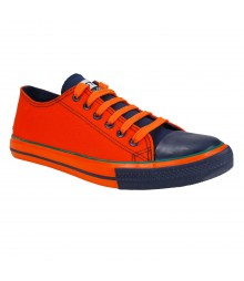 Vostro CPLUS01 Orange Navy Men Casual Shoes - VCS1092-40