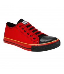 Vostro CPLUS01 Red Black Men Casual Shoes - VCS1093-40