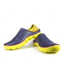 Vostro Men Crocs Sandals & Floaters Bob Blue Yellow VES0002